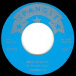 "45Re ✦ RONNIE LYN ✦ ""Who Doed It / Burning Eyes"" 1958 Classic Rockabilly ♫"